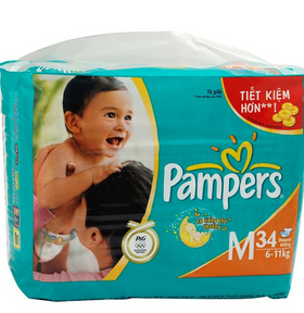 Bỉm Pampers dán M34